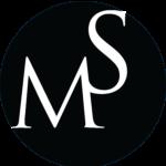 Download Merkur Services logo i sort/hvid.