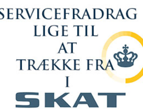 Servicefradraget er for private